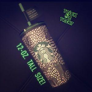 Starbucks🎃12oz Tall Glow in the dark👻tumbler